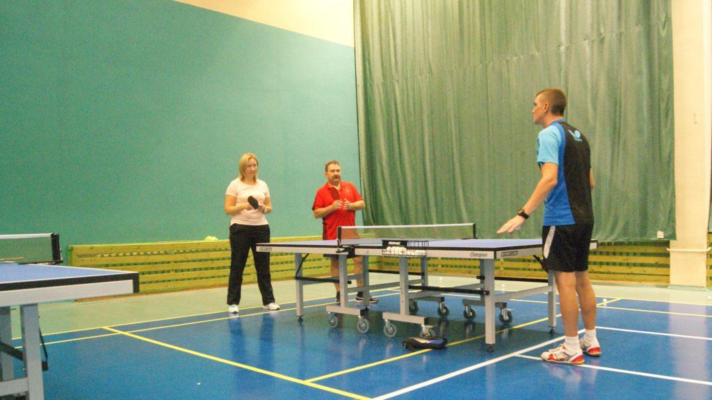 Обучение настольному теннису