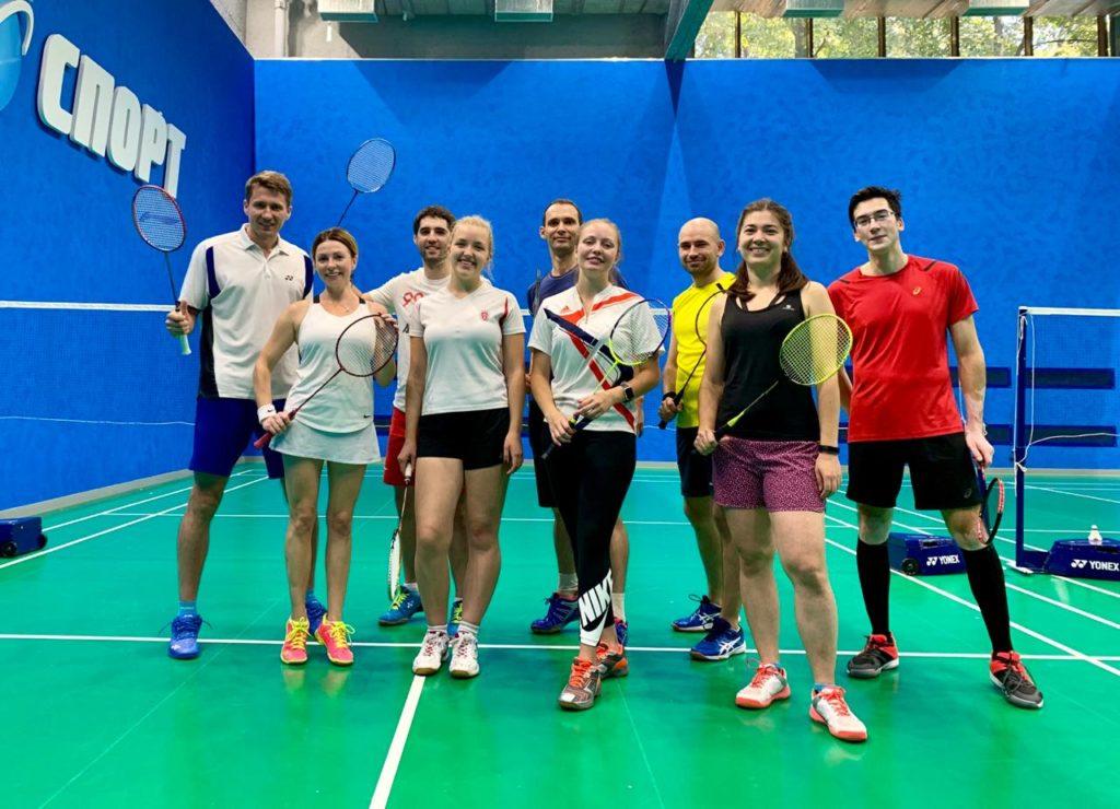 тренировочные сборы по настольному теннису и бадминтону